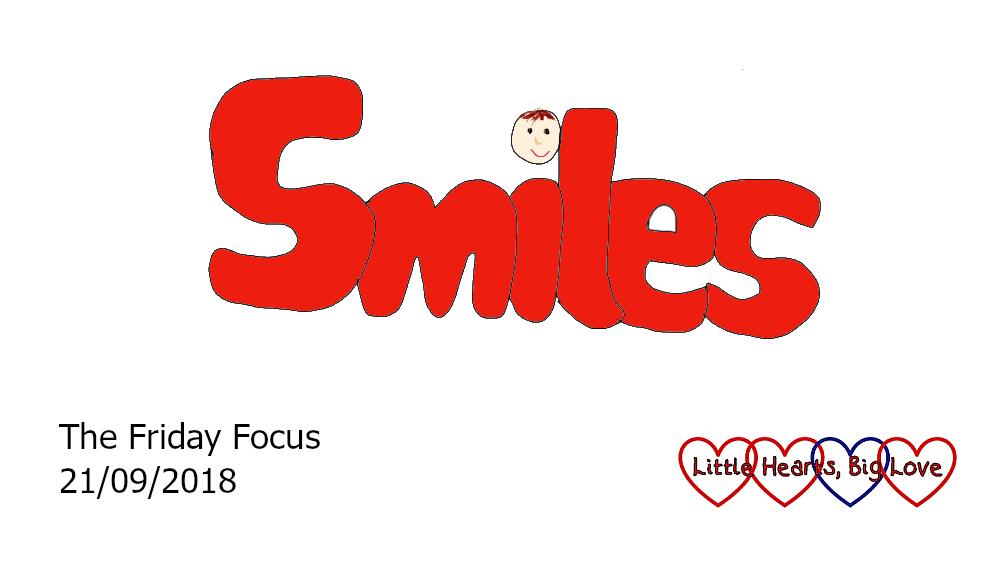 Smiles - this week's word of the week