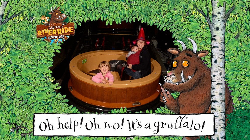 Me, Sophie and Thomas on the Gruffalo River Ride Adventure