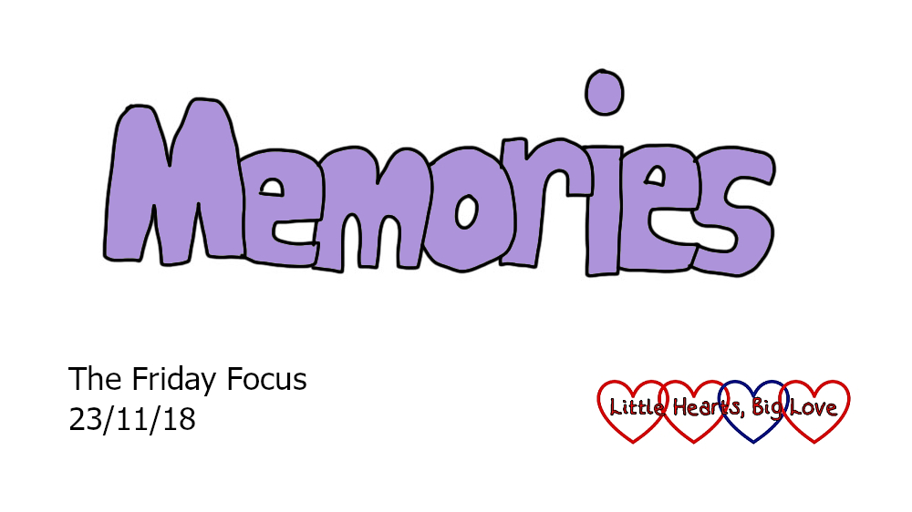 Memories - this week's word of the week