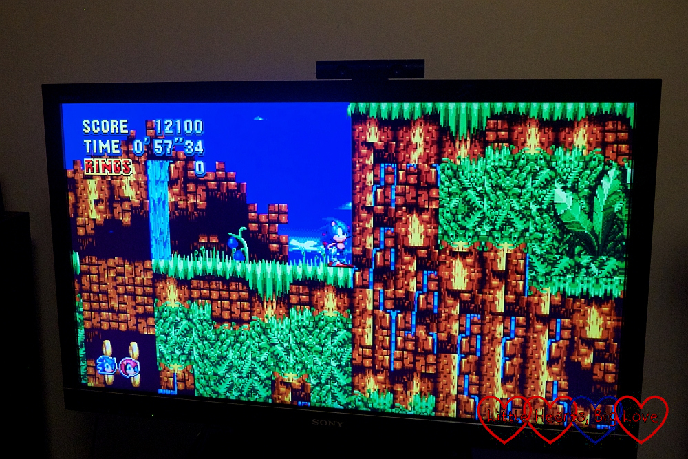 A screenshot from Sonic Mania Plus