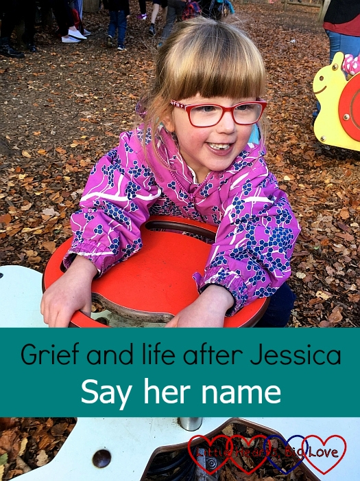 "Jessica at Black Park - ""Grief and life after Jessica: Say her name"""