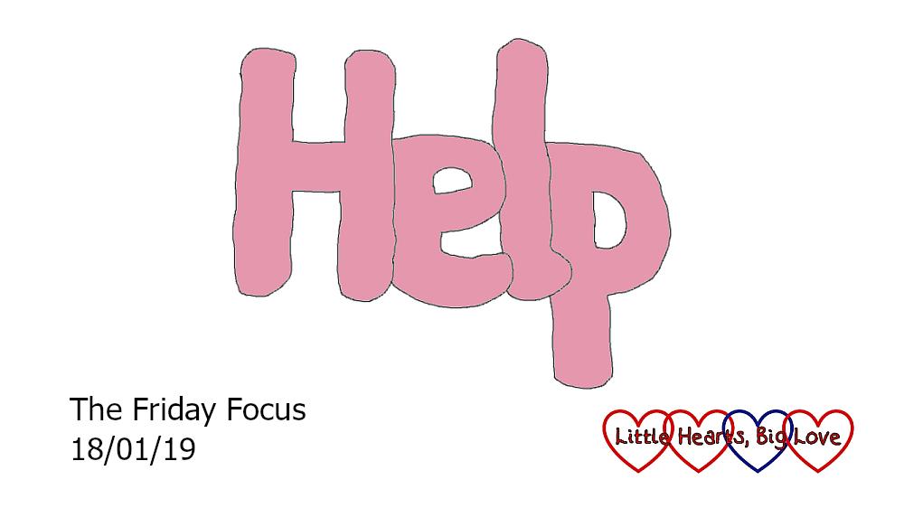 Help - this week's word of the week