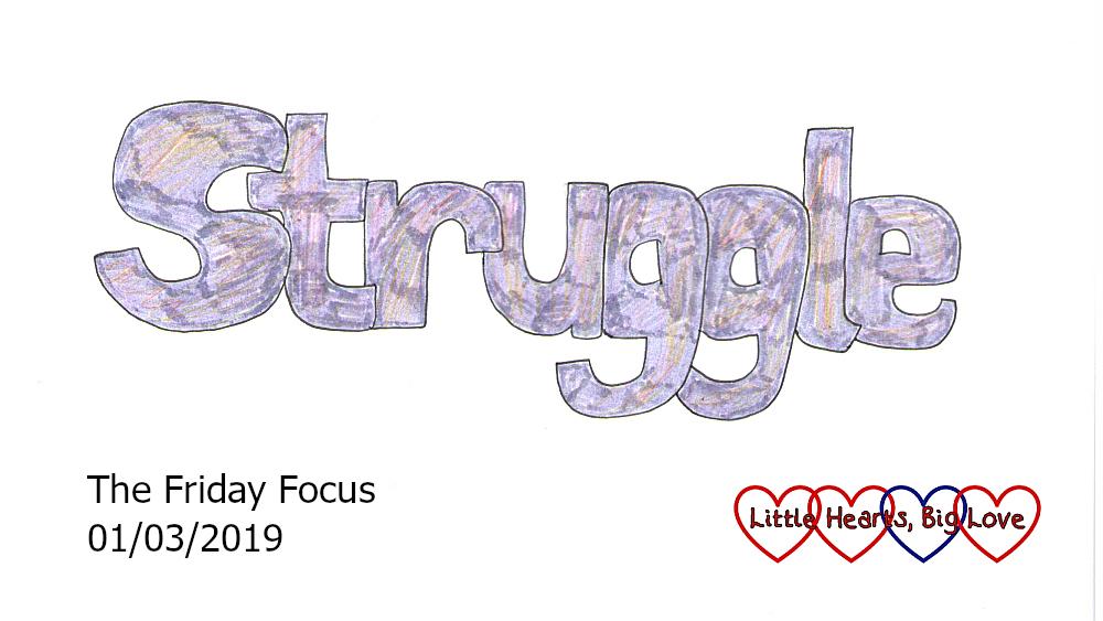 Struggle - this week's word of the week