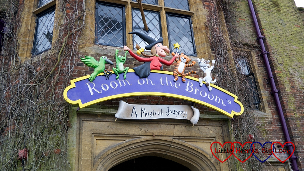 The entrance to Room on the Broom: A Magical Journey at Chessington World of Adventures