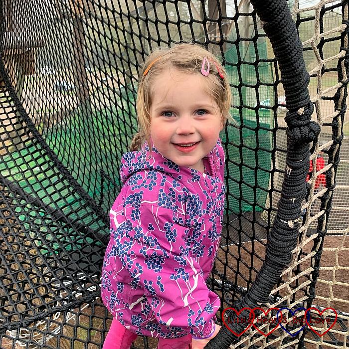 Sophie at Nets Kingdom