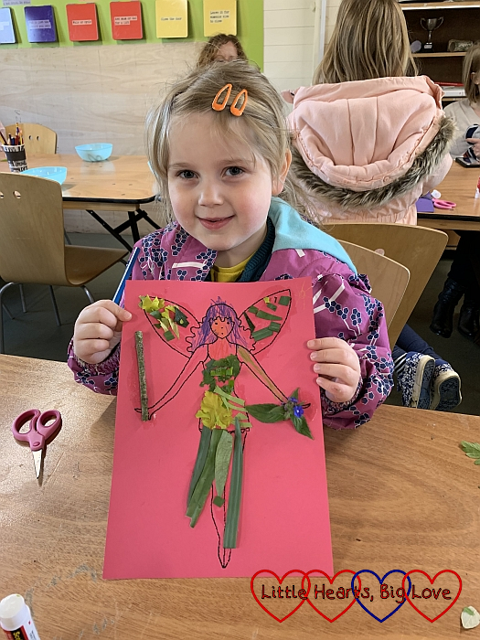 Sophie with her fairy picture