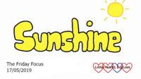 The word 'sunshine'