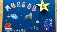 Sophie's CBeebies birthday card for her 6th birthday