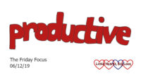 Productive - this week's word of the week