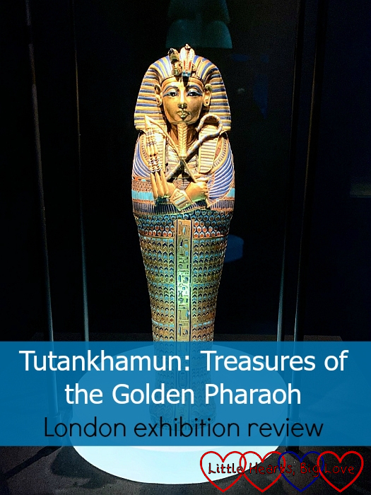 "A miniature canopic coffin from the Tutankhamun exhibition - ""Tutankhamun: Treasures of the Golden Pharaoh - London exhibition review"""