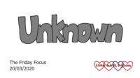 The word 'unknown'