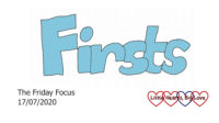 The word 'firsts' in blue
