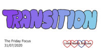 Transition - this week's word of the week