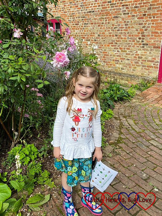 Sophie at Chiltern Open Air Museum