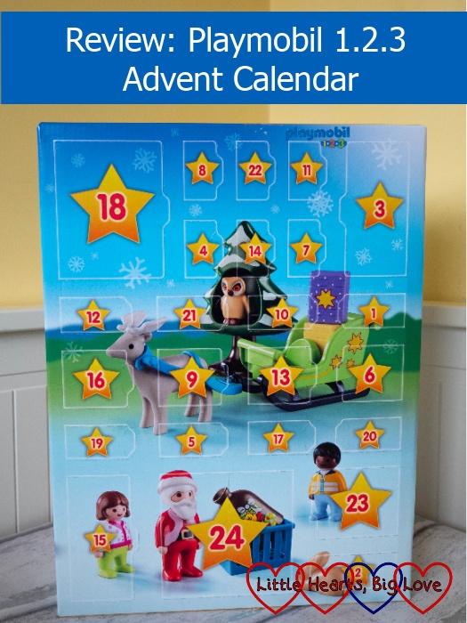 """The Playmobil 1.2.3 Advent Calendar – """"Review – Playmobil 1.2.3 Advent Calendar"""""""