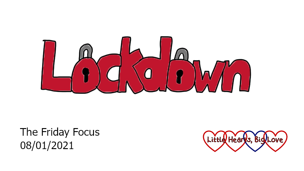 The word lockdown with padlocks drawn as the 'o's