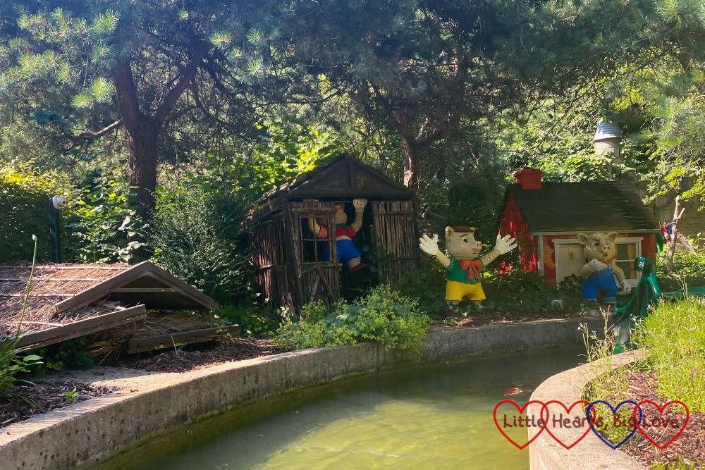 The Three Little Pigs at Fairy Tale Brook