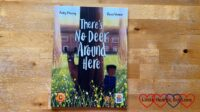 The front cover of the book 'There's No Deer Around Here'