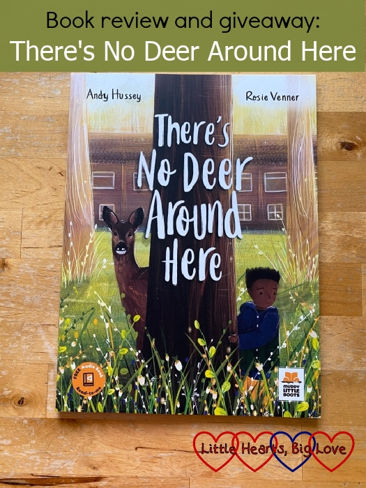 """The front cover of the book 'There's No Deer Around Here' - """"Book review and giveaway: There's No Deer Around Here"""""""