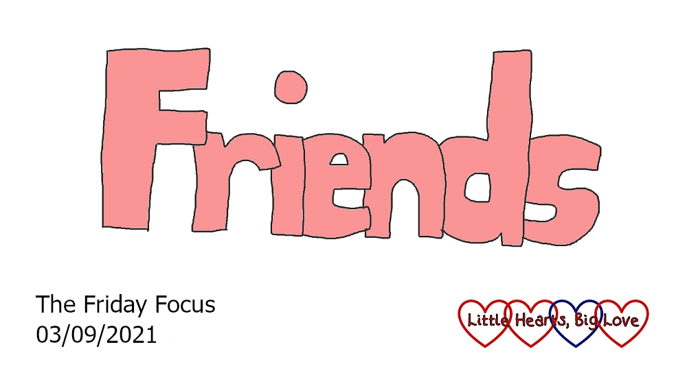 The word 'friends'